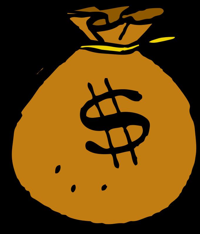 Melonheadz clipart money. Bag medium image png