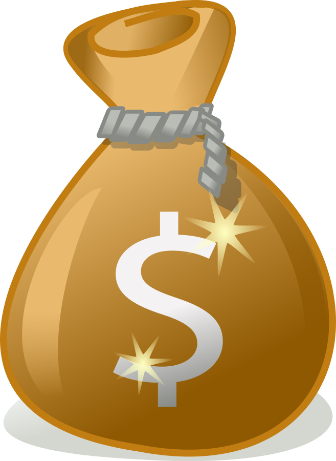 collection of bag. Money clipart powerpoint