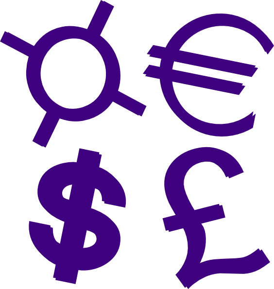 Clipart money purple. Pencil and in color