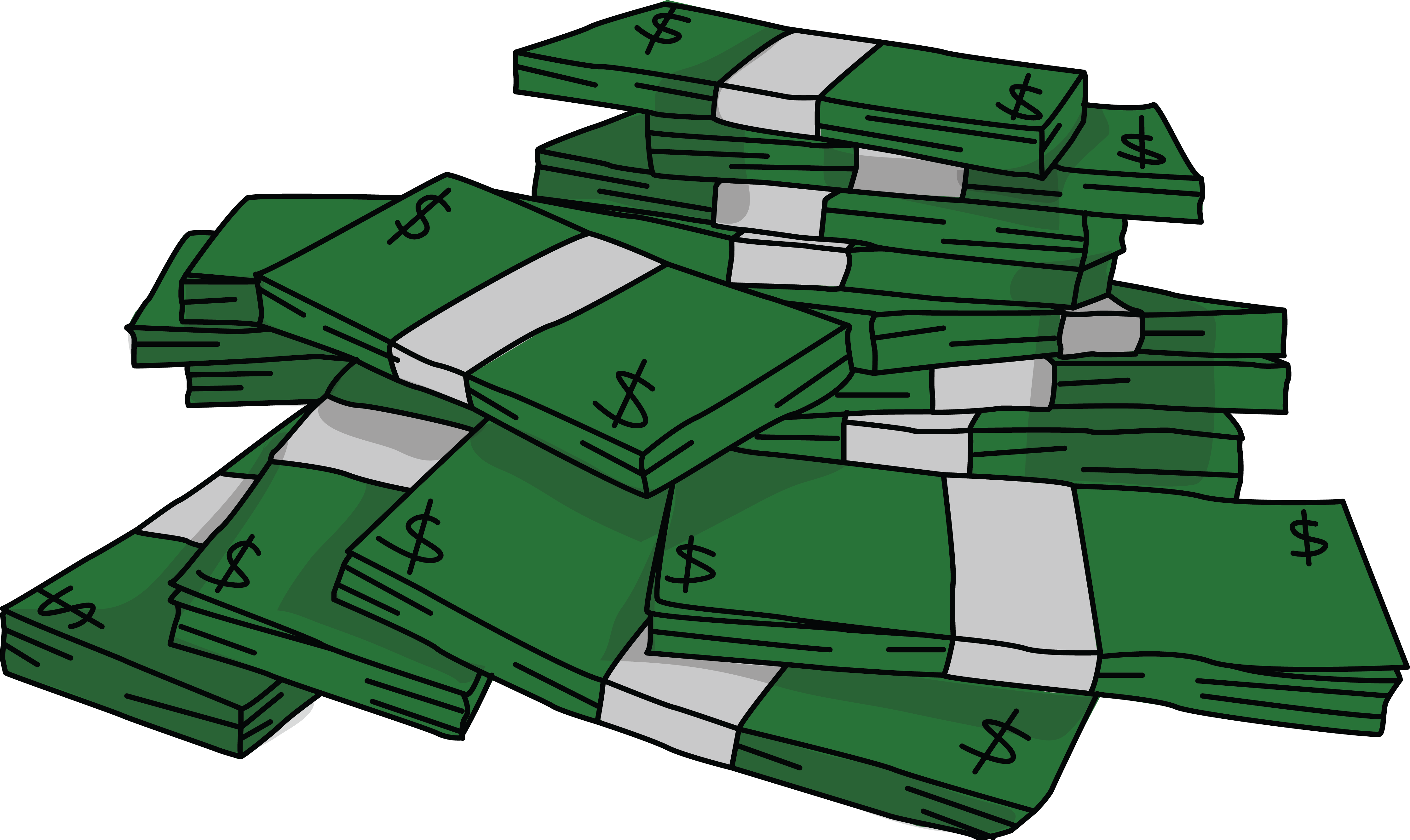 Money clipart animation.  collection of stack