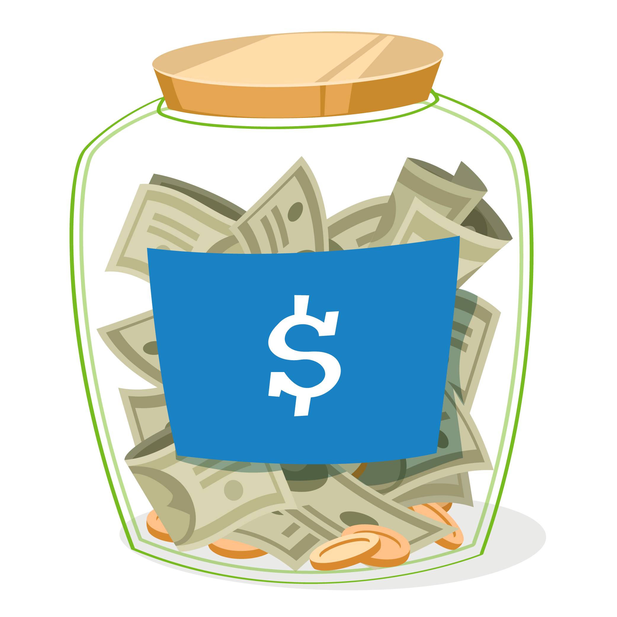 Money clipart teacher. Benefitwise newsletter jar of