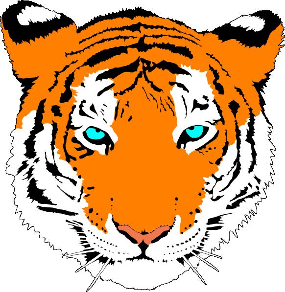Bengal tiger clip art. Paisley clipart bengali