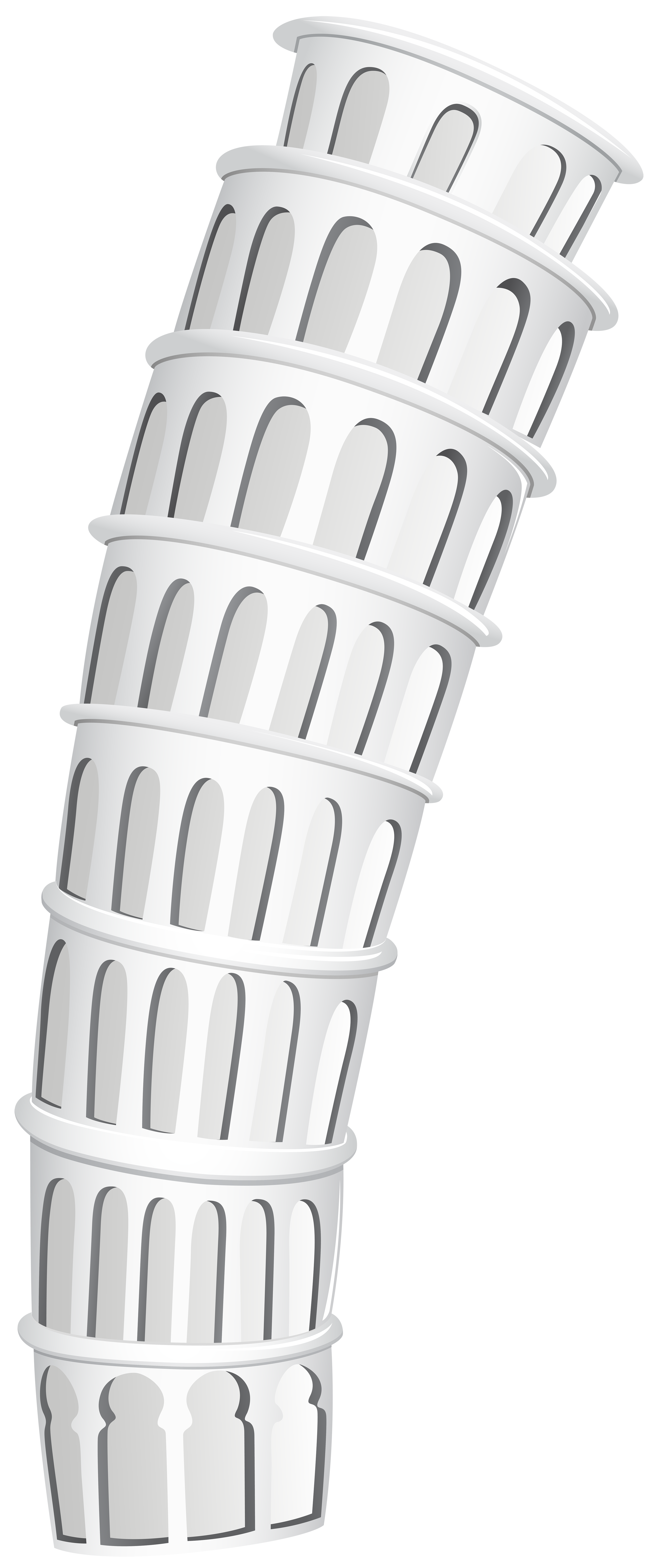 Tower clipart pisa clipart. Leaning of png clip