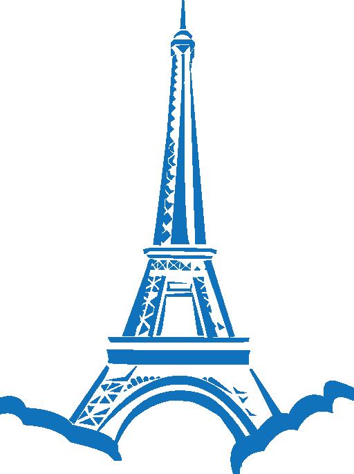 Eiffel paris i royalty. Money clipart tower