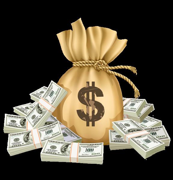 Money transparent background