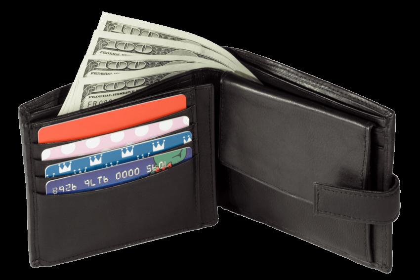 Black png free images. Wallet clipart ladies wallet