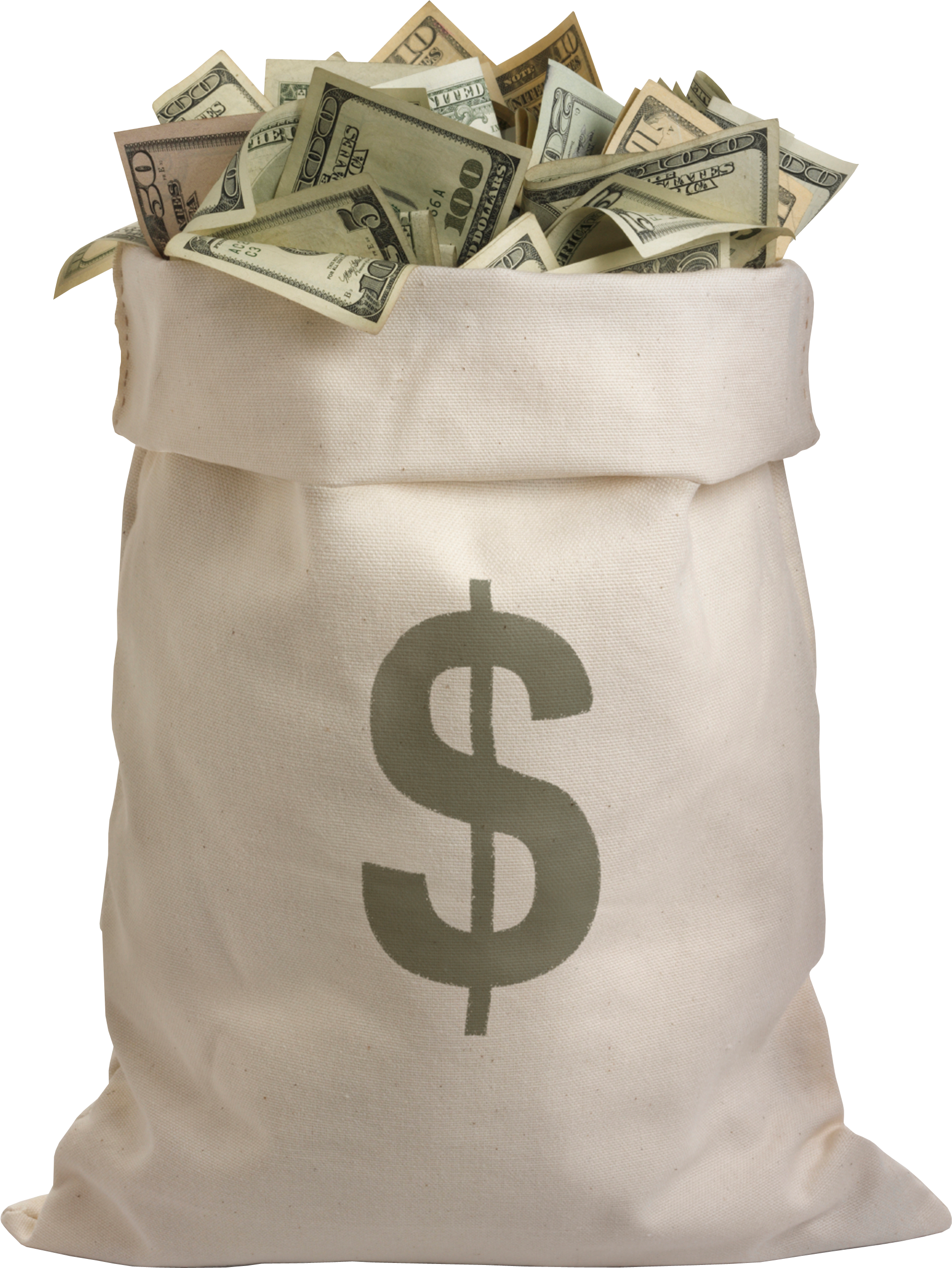 Bag of four isolated. Economy clipart money donation