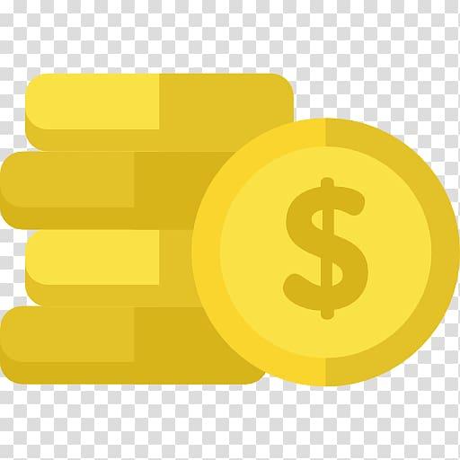 Dollar illustration money gold. Coins clipart yellow
