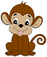 Cute clip art pinterest. Monkey clipart