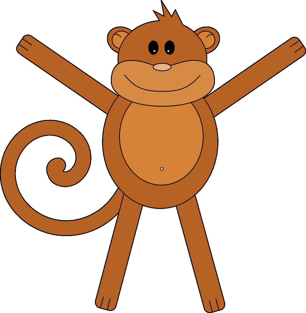 Stokebloke blog vector. Monkey clipart simple
