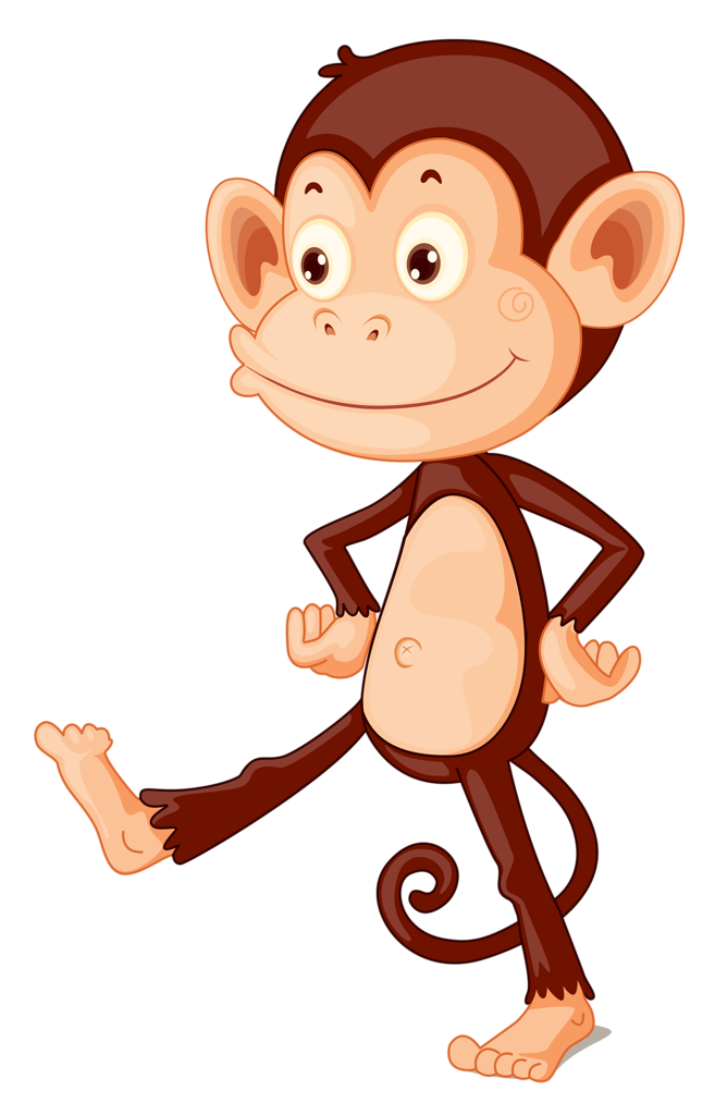 Clipart monkey body. Pin by valentina on