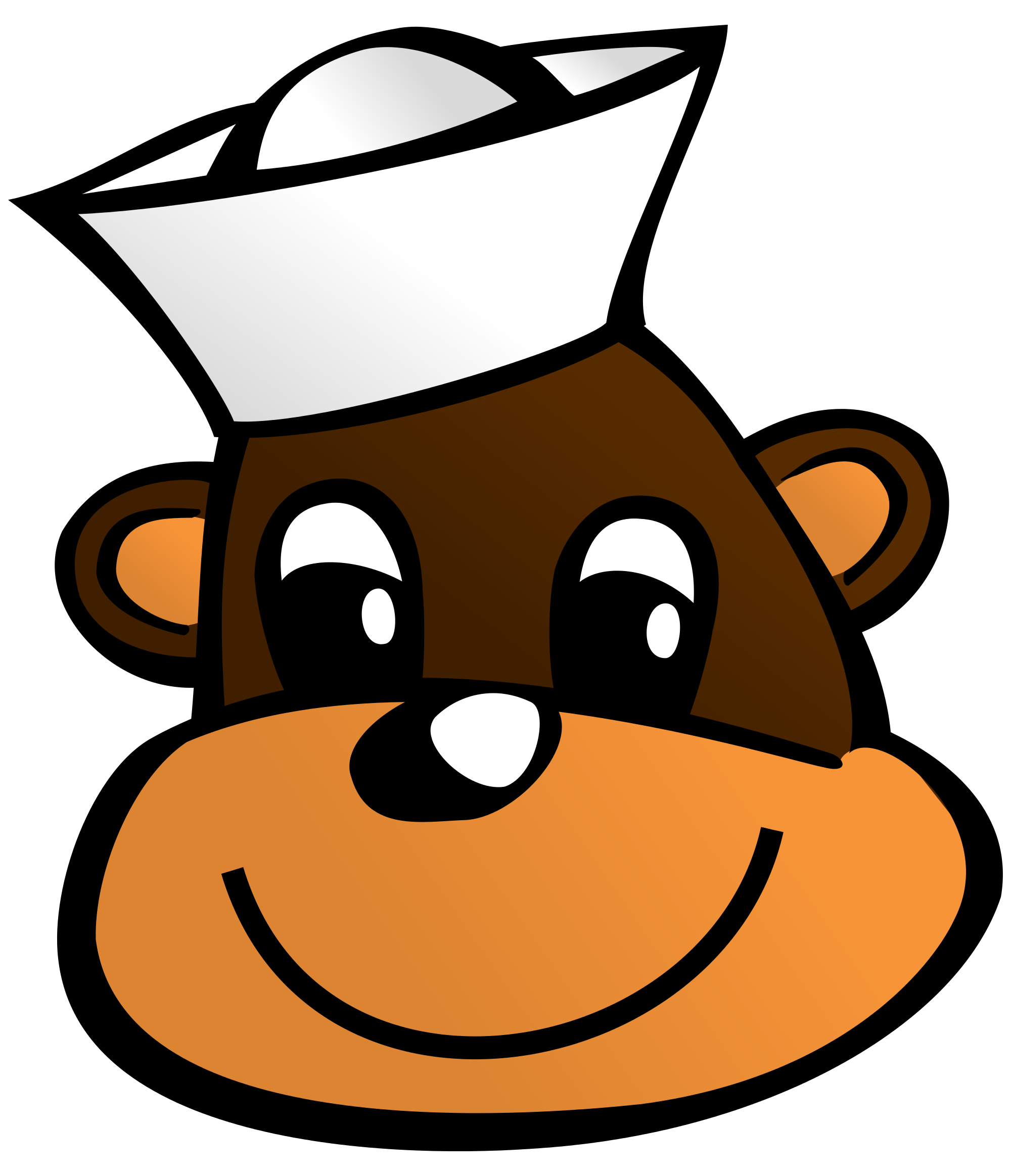 Sailor clipart salior. File monkey svg wikimedia
