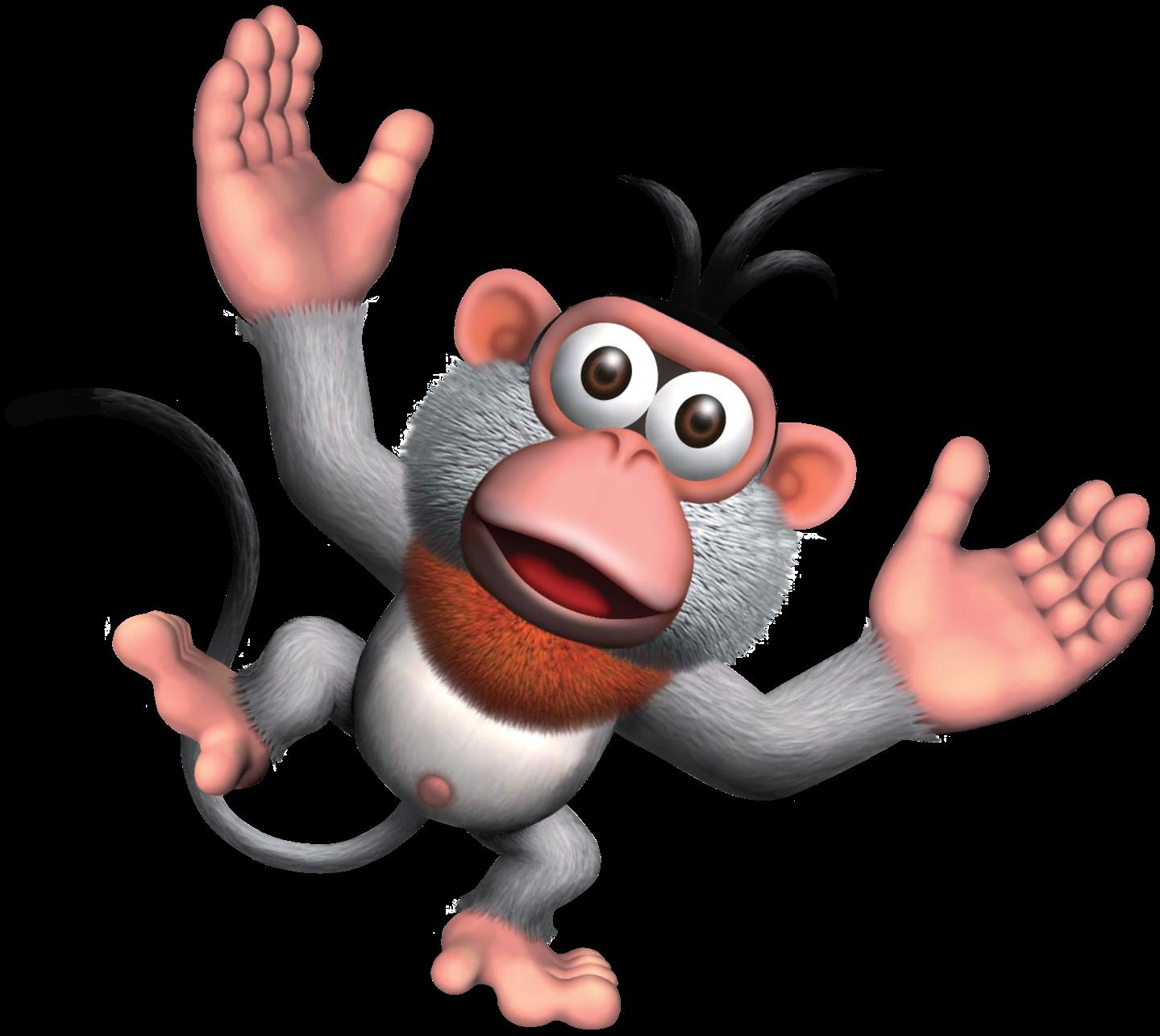 Monkey clipart capuchin monkey. Dk girder the jungle