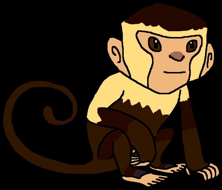monkey clipart capuchin monkey