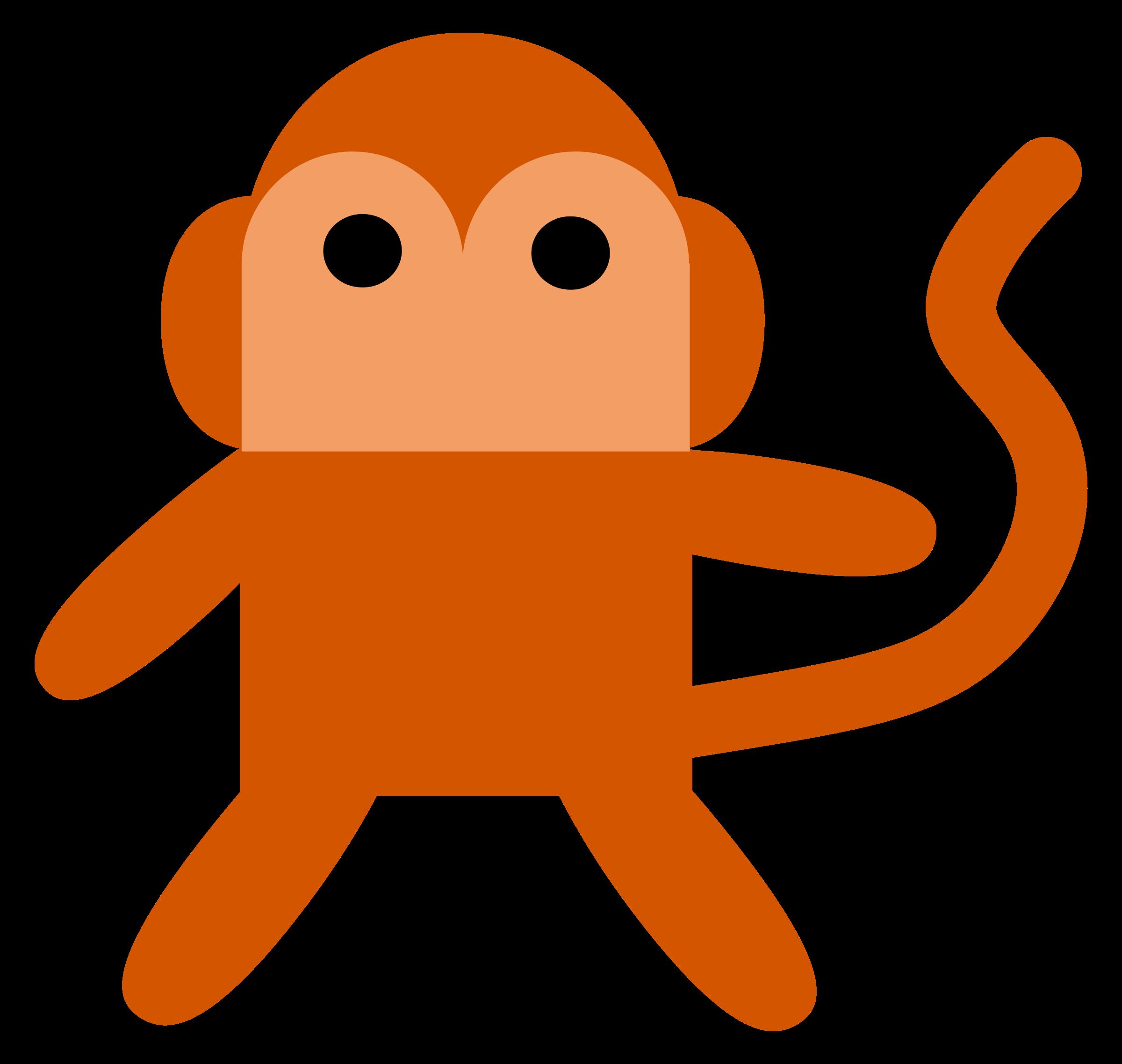 Big image png. Clipart monkey cheeky monkey