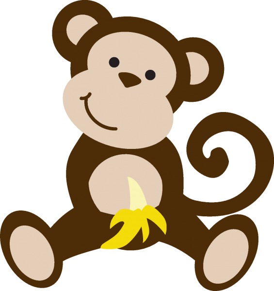 Clipart monkey cheeky monkey. The news for um