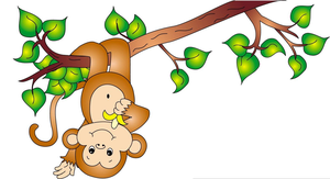 Monkey clipart cheeky monkey. Free images at clker