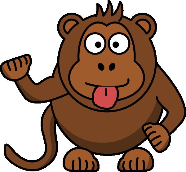Clip art at clker. Clipart monkey cheeky monkey