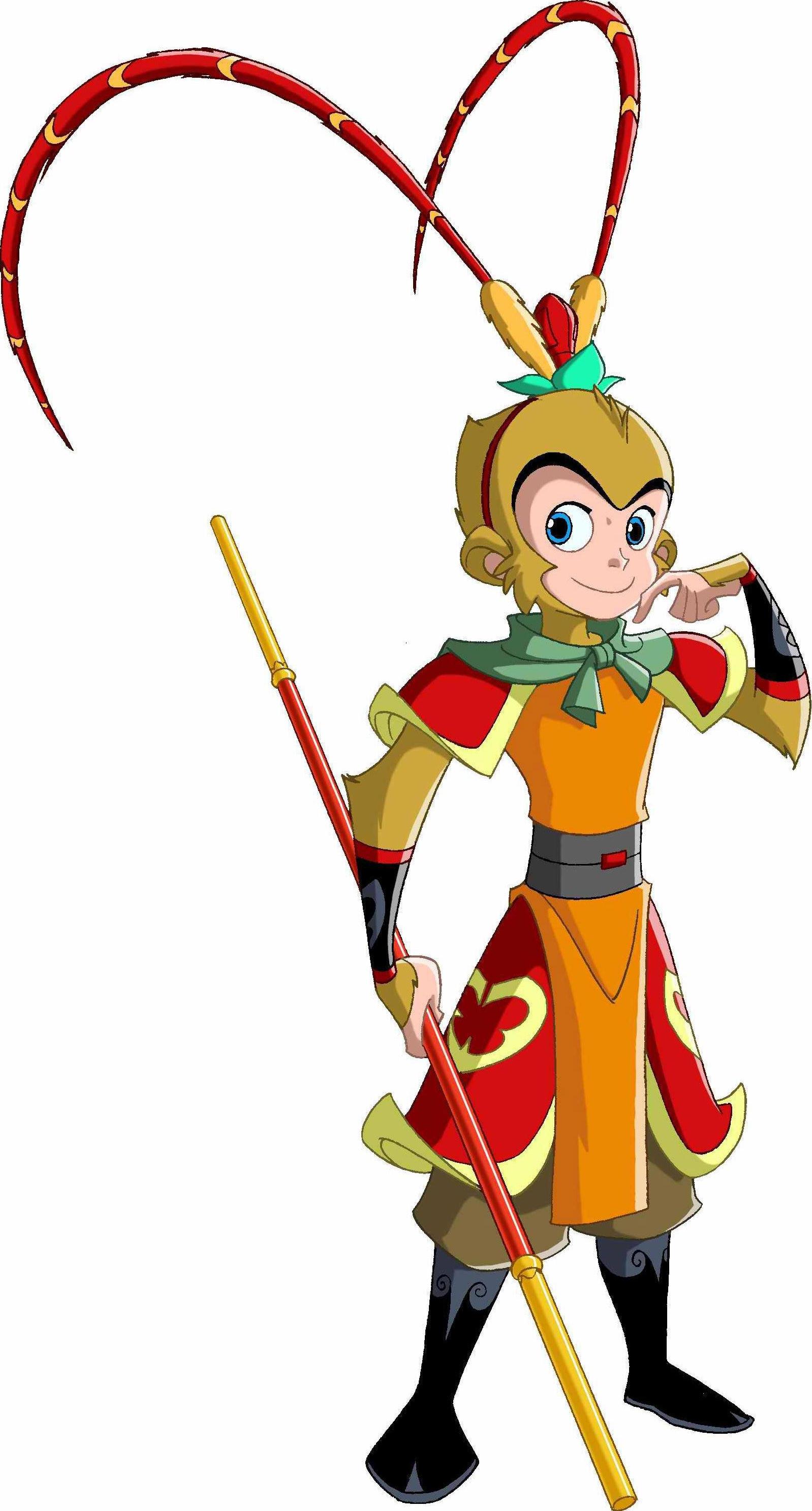 Clipart monkey costume. Sun wukong china journey