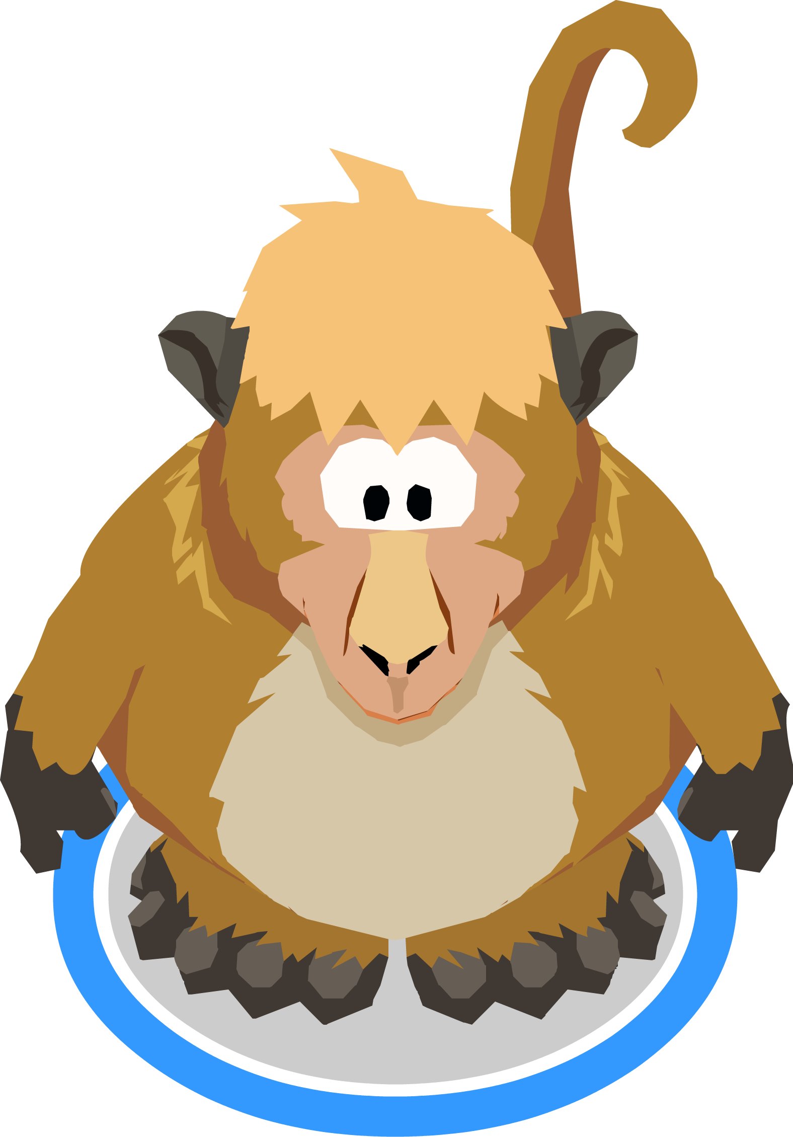 Image in game png. Clipart monkey costume