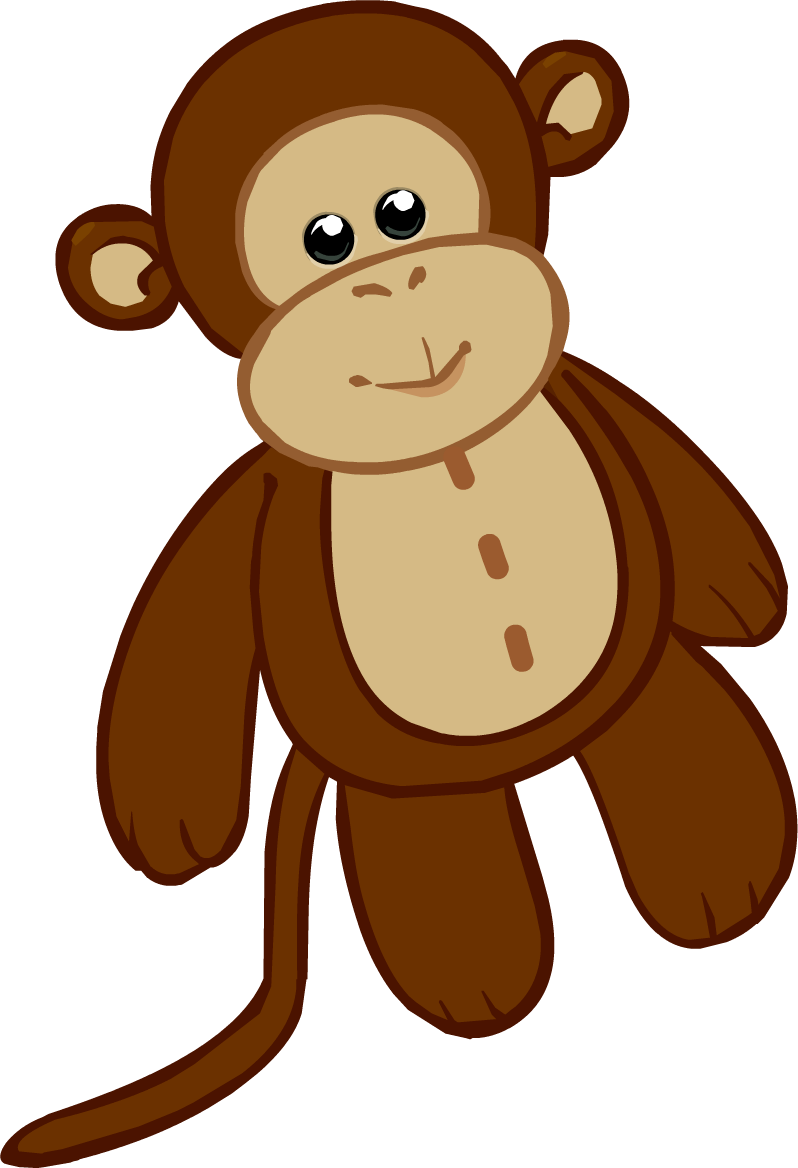 Image stuffie icon png. Clipart monkey costume