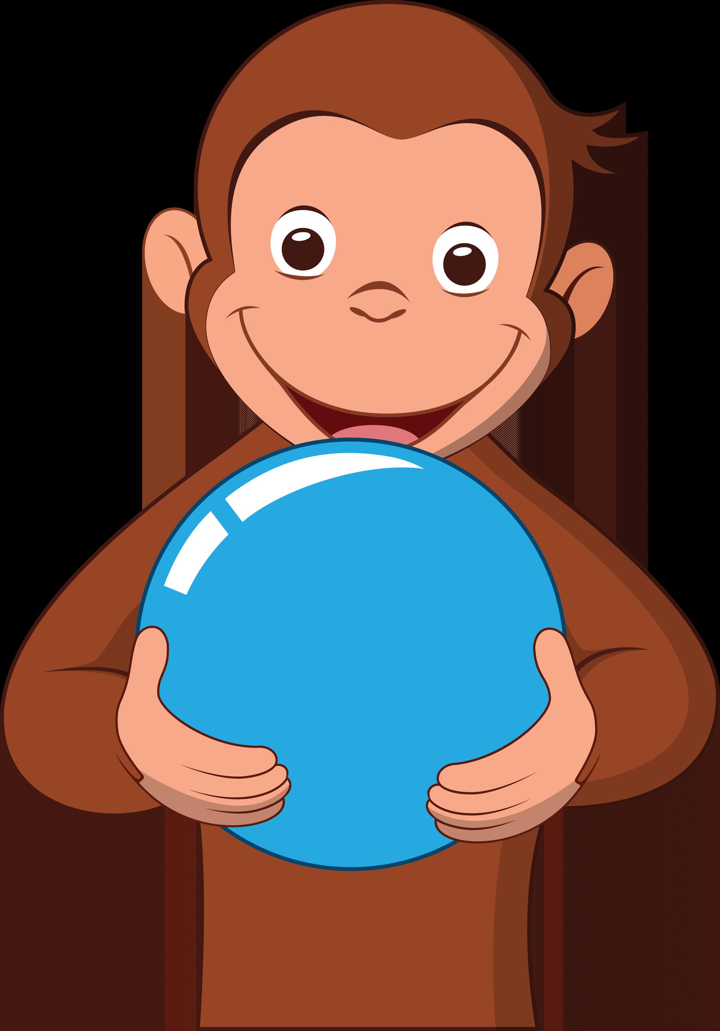 monkeys clipart curious george