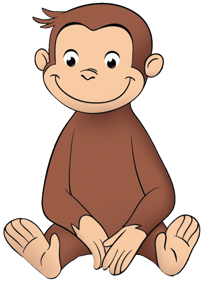 Monkeys clipart curious george. Image png wiki fandom