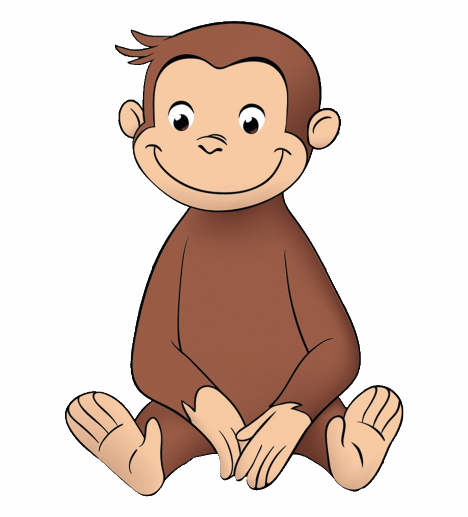 Monkeys clipart curious george. Monkey png