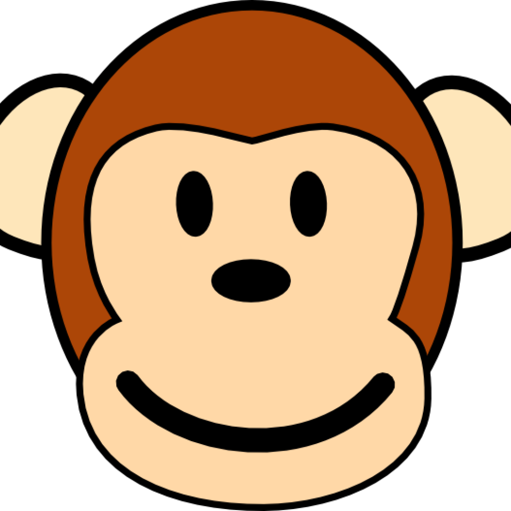Stitch clipart face. Monkey drawing hatenylo com