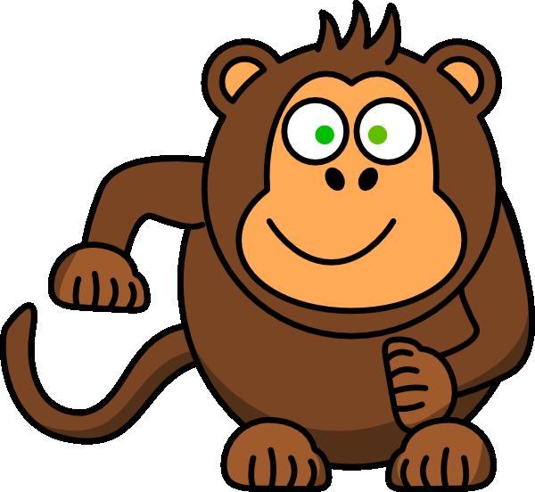 Clipart monkey foot. Clip art at clker