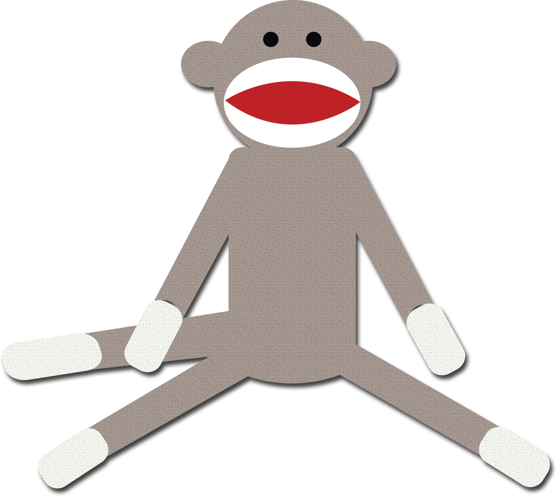 Clipart monkey halloween. Sock free download best