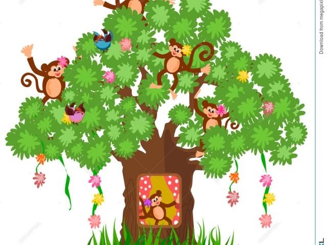 Free Pictures Of Monkeys In Trees, Download Free Clip Art, Free Clip Art on  Clipart Library