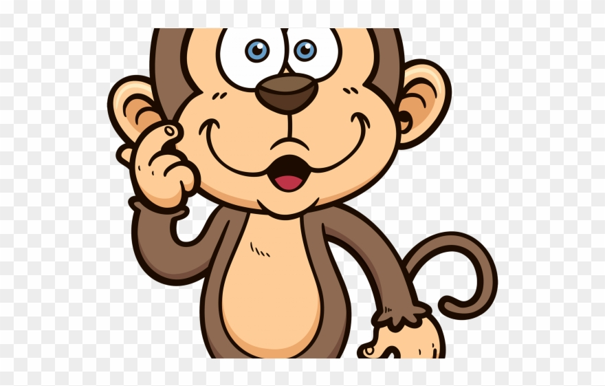 Year of the transparent. Clipart monkey mokey