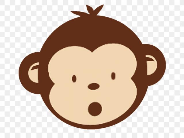 Clipart monkey mokey. Free year of the