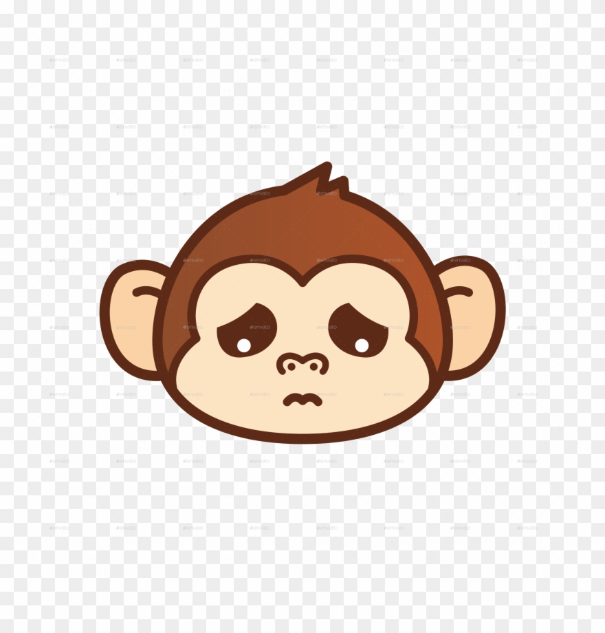 Svg black and white. Monkey clipart monky