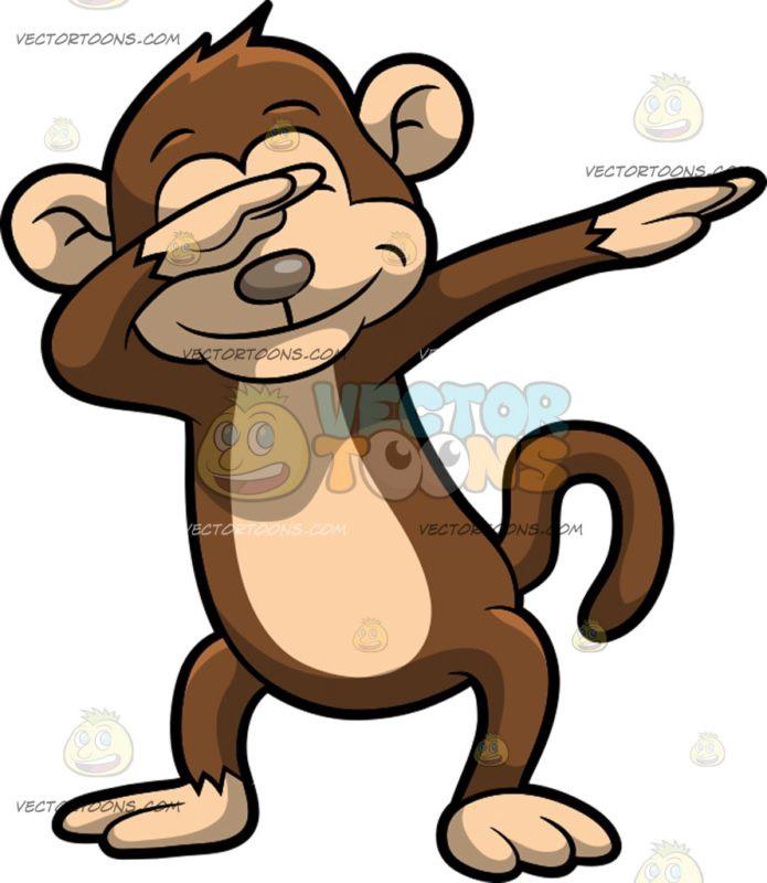 X free clip art. Clipart monkey profile