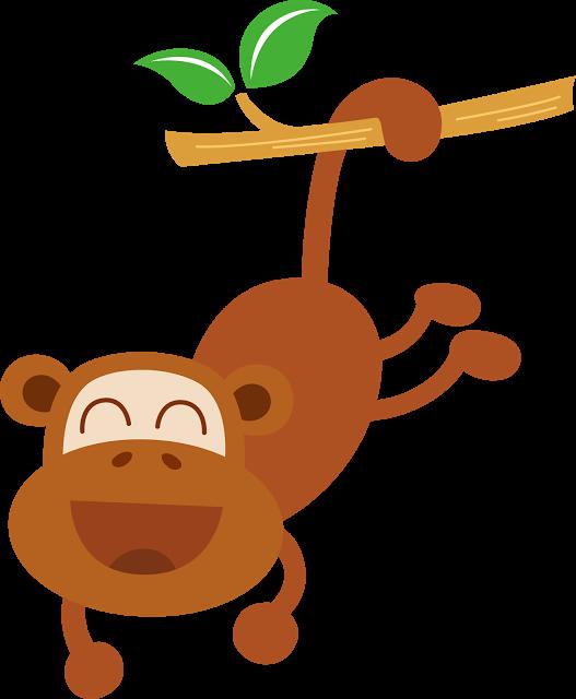 Pin by antonia mendez. Clipart monkey safari animal