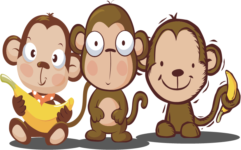 Monkey business clipground writing. Storytime clipart helpful student
