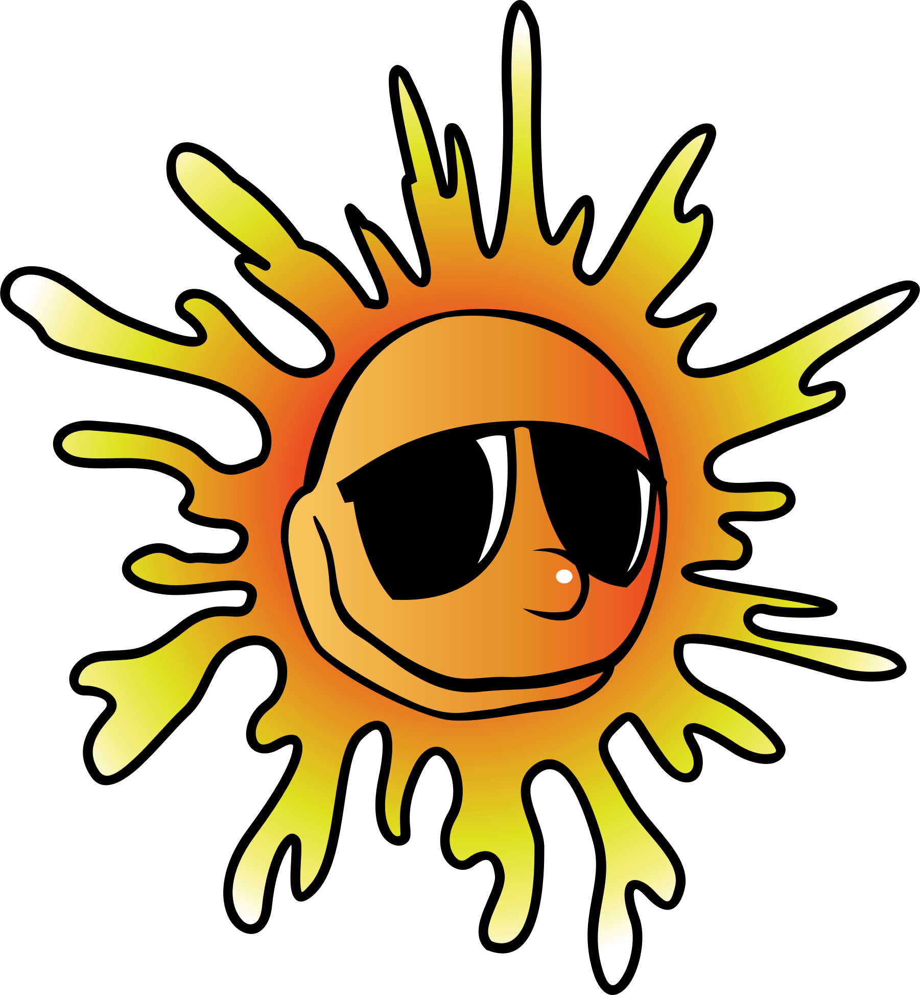 Heat clipart summer. Sunglasses big image png