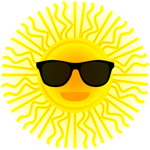 Sunglasses clipart small. Person laughing clipartmonk free