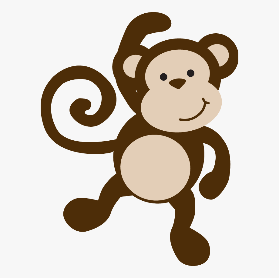 Monkeys baby png cliparts. Clipart monkey template