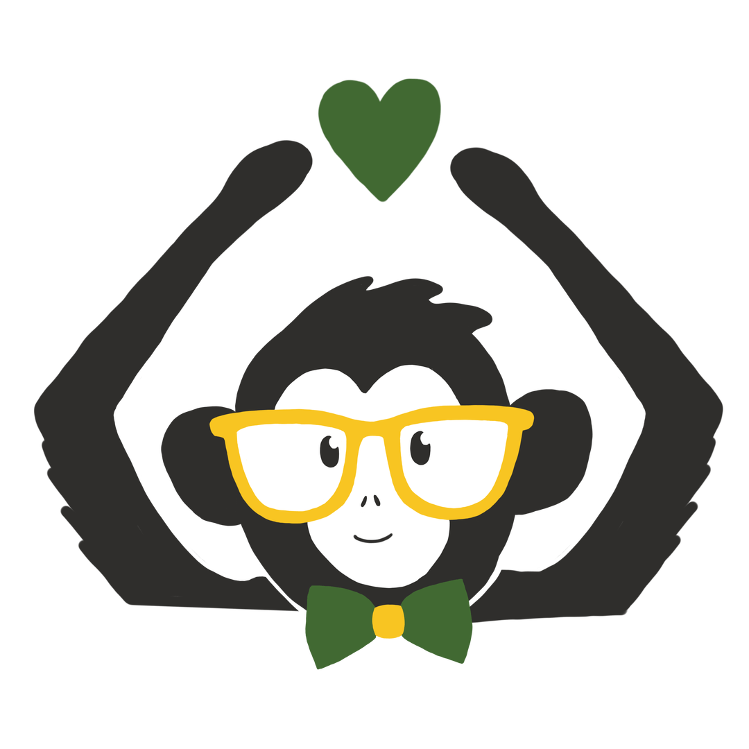 Clipart monkey thanksgiving. This duo knows marketing
