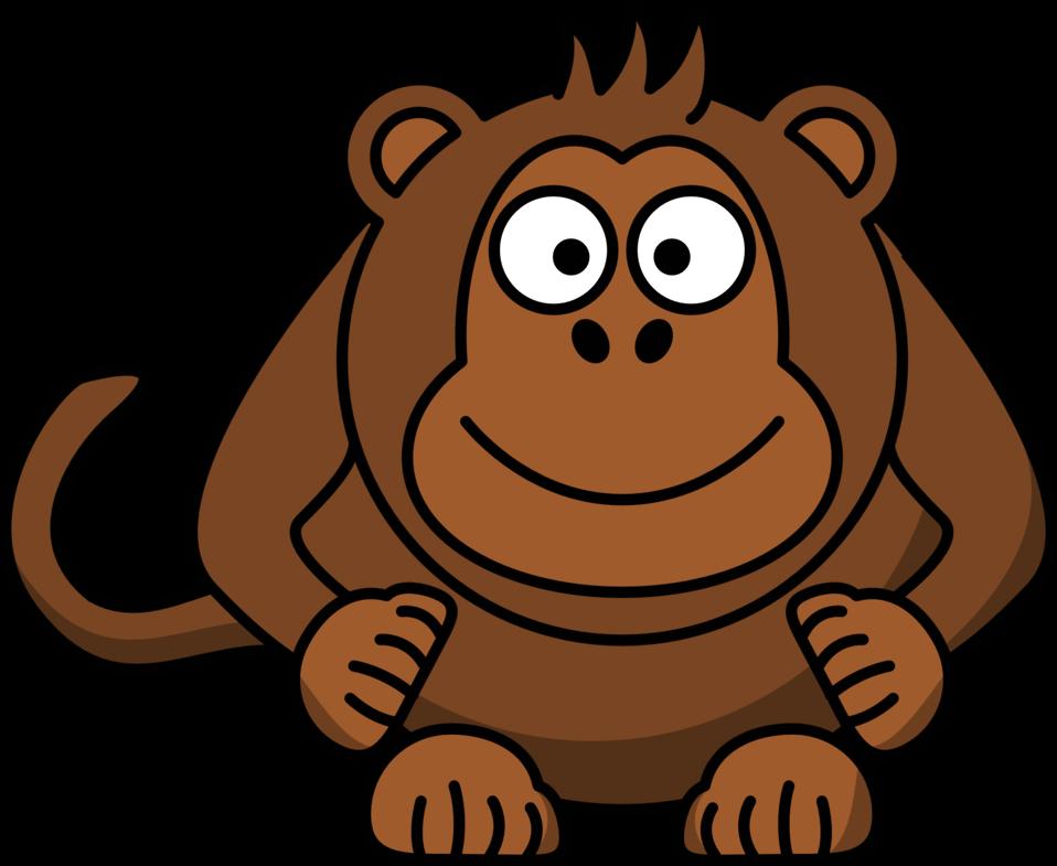 Public domain clip art. Face clipart orangutan