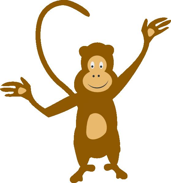 Monkeys clipart family. Monkey clip art at
