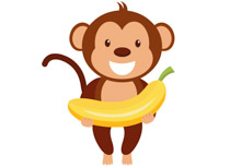 Free monkey clip art. Monkeys clipart