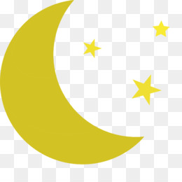 Crescent png and psd. Clipart moon