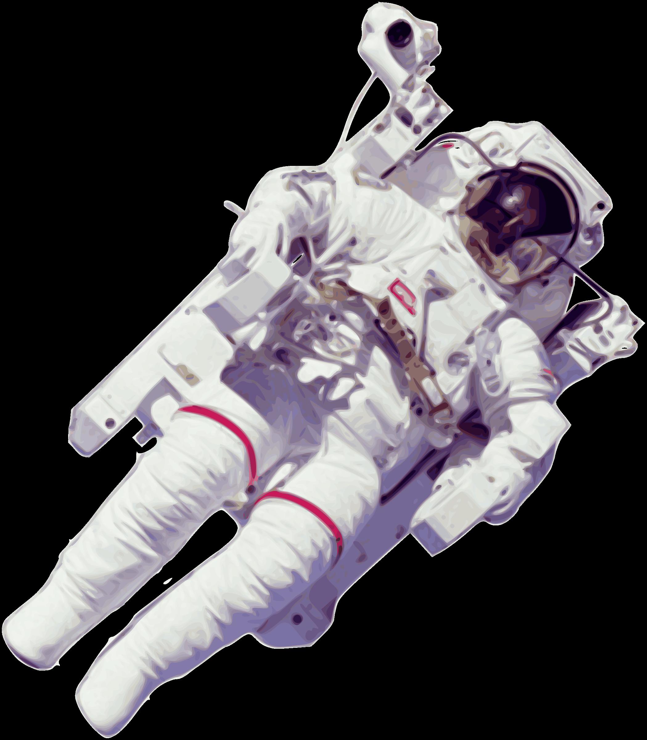 Clipart moon bitmap. Astronaut large version big