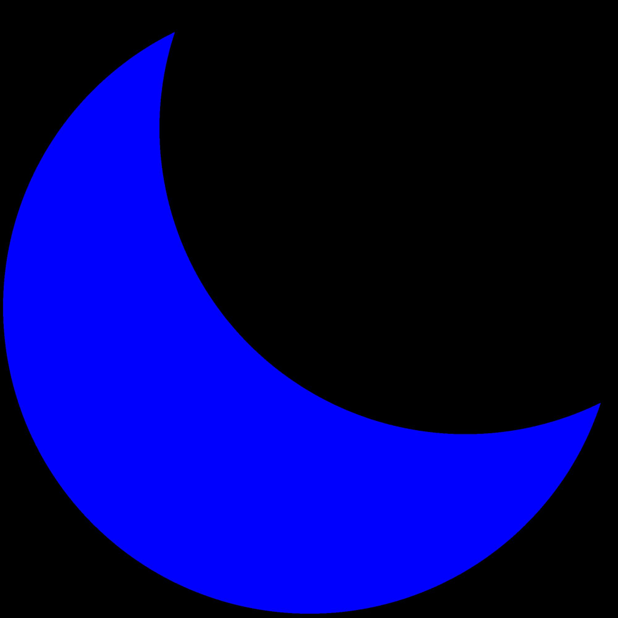 Moonblueeeeyasmin big . Clipart moon bitmap