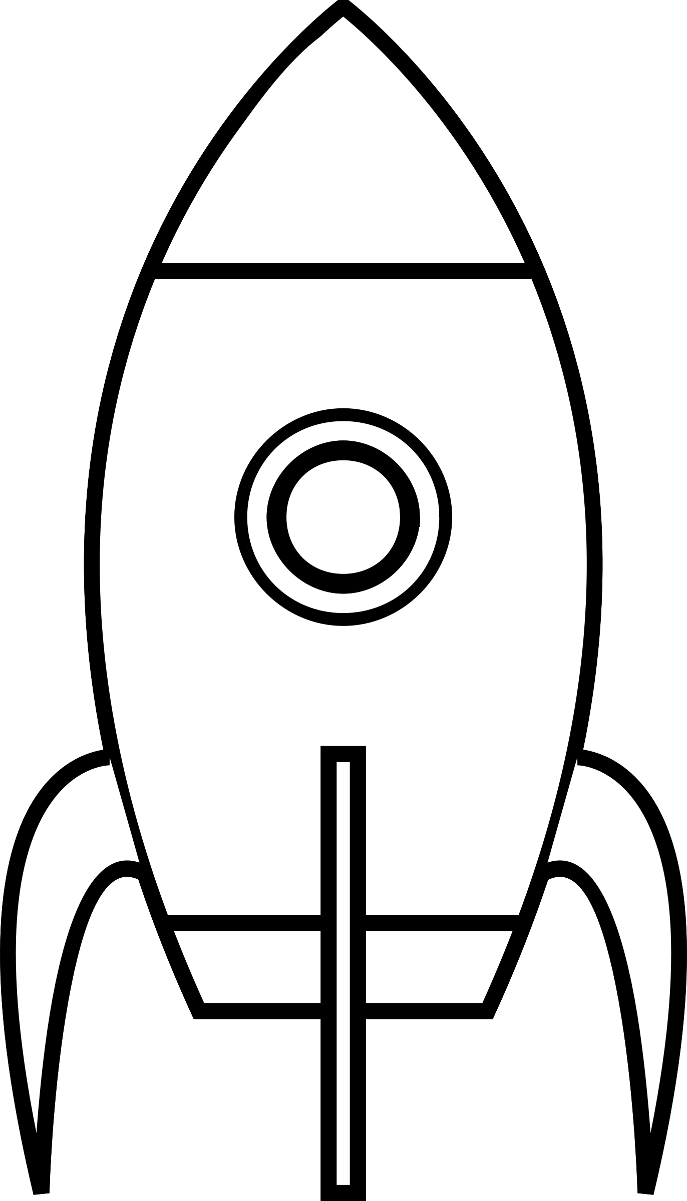 Clipart rocket black and white. Cartoon moon remix big