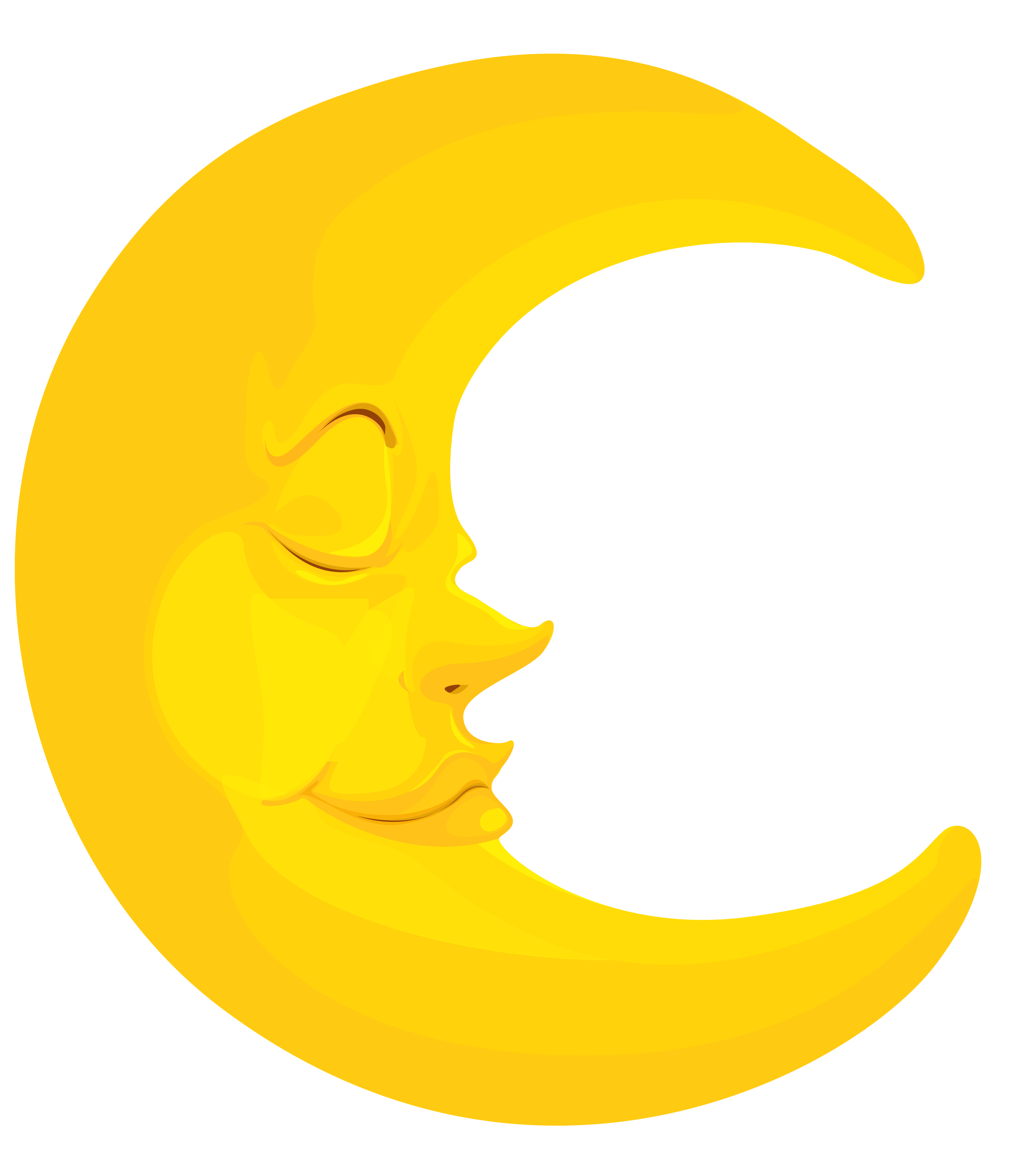 Clipart moon cartoon. Tag for images png